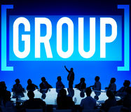 Gruop Union Team Organization Partnership Concept Stock Image