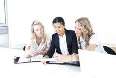 grup biznesowych kobiety Obraz Stock