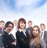grup biznesowych ludzie siedem potomstw Obrazy Royalty Free