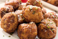 Grup of meat balls Stock Photography