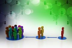 grup osób ilustracji