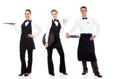 Grupowy restauracja personel Obraz Royalty Free