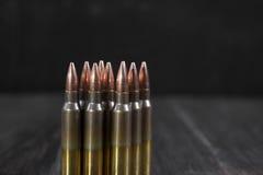 Grupa amunicje geometrically umieszczać Zdjęcia Royalty Free