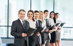 Grupa biznesmenów dyskutować Fotografia Royalty Free