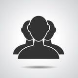 Grupa biznesmen ikona Fotografia Stock