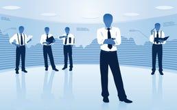 Grupa biznesowa ilustracji