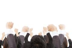 Grupa biznesowa i odizolowywający na biel Zdjęcie Royalty Free