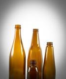 Grupa brown butelka Obraz Stock