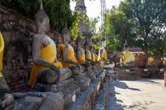 Grupa Buddha Obrazy Royalty Free