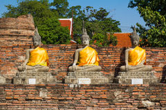 Grupa Buddha Obraz Royalty Free