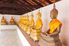 Grupa Buddha wizerunki Zdjęcie Royalty Free