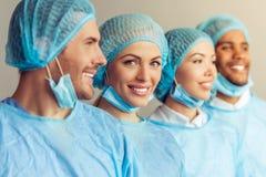 Grupa chirurdzy Zdjęcie Royalty Free
