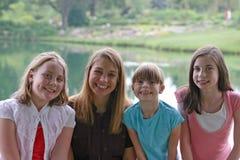 grupa dziewczyn Zdjęcia Stock