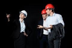 Grupa fachowi architekci Zdjęcia Stock