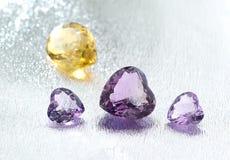 Grupa gemstones. Obraz Royalty Free