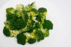 Grupa gotujący brocoli Fotografia Stock