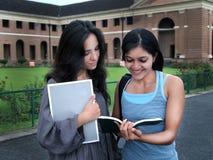 Grupa Indiańscy student collegu. Zdjęcie Royalty Free