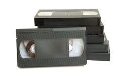 grupa kasety wideo Zdjęcia Stock
