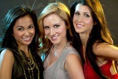 Grupa kobiet bawić się zdjęcia royalty free