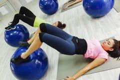 Grupa kobiety Robi Pilates Fotografia Stock