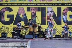 Grupa krajowa muzyka Zdjęcia Stock