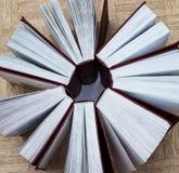 Grupa książki, odgórny widok Zdjęcia Stock