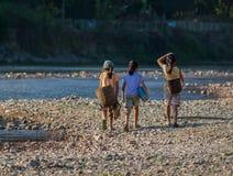 Grupa laotian dziewczyny Obraz Stock