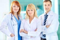 Grupa lekarz praktykujący Obrazy Stock