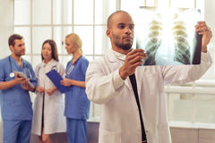 Grupa lekarzi medycyny Obraz Royalty Free