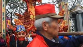 Grupa ludzi uczęszcza tradycyjnych festiwale zbiory wideo