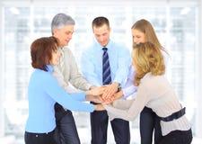 Grupa ludzie biznesu w biurze. zdjęcie stock