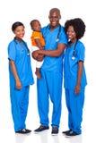 Afrykanin fabrykuje dziecka Fotografia Royalty Free