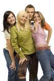 grupa młodych ludzi Fotografia Stock