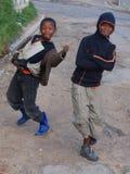 Grupa młode dzieci Zdjęcia Royalty Free