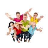 Grupa młodzi ludzie Obrazy Stock
