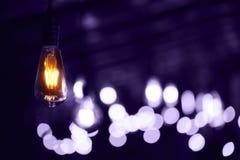Grupa nowożytne Volet lampy Ultra Obraz Royalty Free