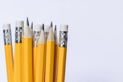 Grupa ołówki zdjęcie stock