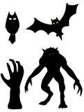 Grupa potwory ilustracji