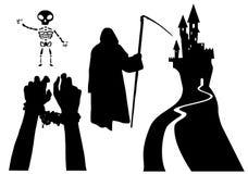 Grupa potwory ilustracja wektor