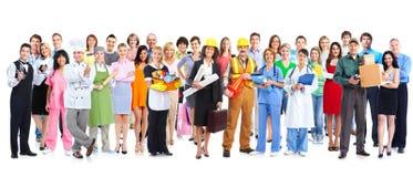 Grupa pracowników ludzie Obrazy Royalty Free