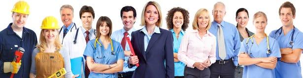 Grupa pracowników ludzie Zdjęcie Stock