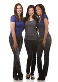 Grupa przypadkowe kobiety Zdjęcie Stock