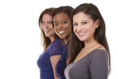 Grupa przypadkowe kobiety Zdjęcie Royalty Free