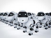 Grupa psi roboty ilustracji