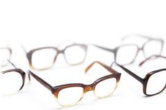 Grupa rocznika antyka eyeglasses obrazy royalty free