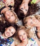 Grupa rozochocona kobieta Bachelorette Obraz Stock