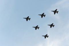 Grupa samoloty Zdjęcia Royalty Free