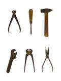 grupa starych narzędzi Zdjęcie Royalty Free