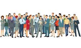 Grupa trwanie biznesowi profesjonaliści ilustracji