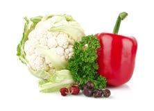 Grupa warzywa pełno witamina C zdjęcia royalty free